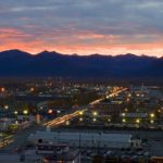 Anchorage at dawn, Anchorage Alaska, Guy Sagi, Raeford, Hoke County, North Carolina